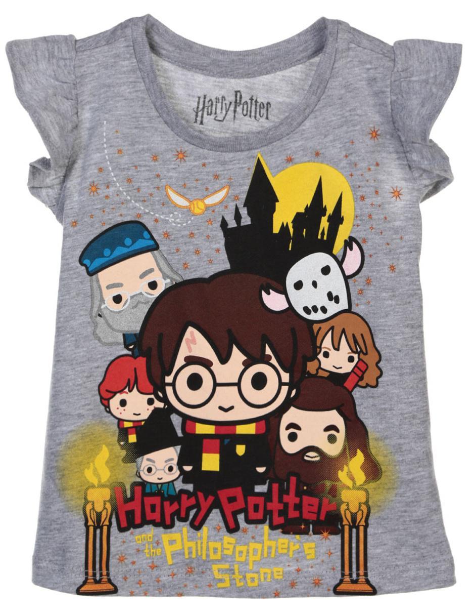 la mejor calidad para apariencia estética alta moda Playera jaspeada Harry Potter algodón para niña en Liverpool