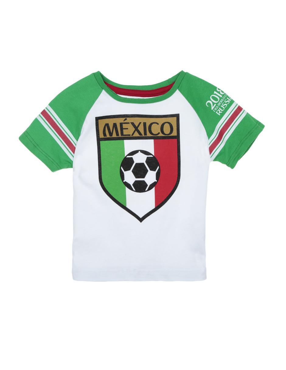 Playera Fifa algodón para niño a3a96a1ee640b