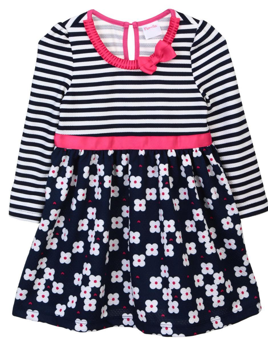 9caf6e8676 Vestido floral Fiorella para niña