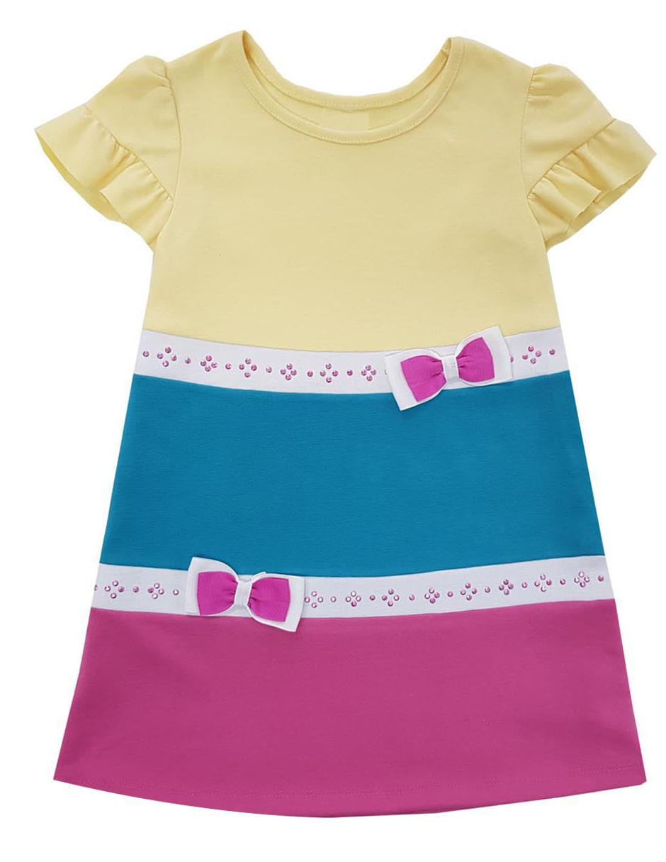 5745a41e51 Vestido liso Fiorella para niña